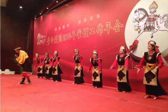2014年会:西藏拉萨同仁出演节目图片