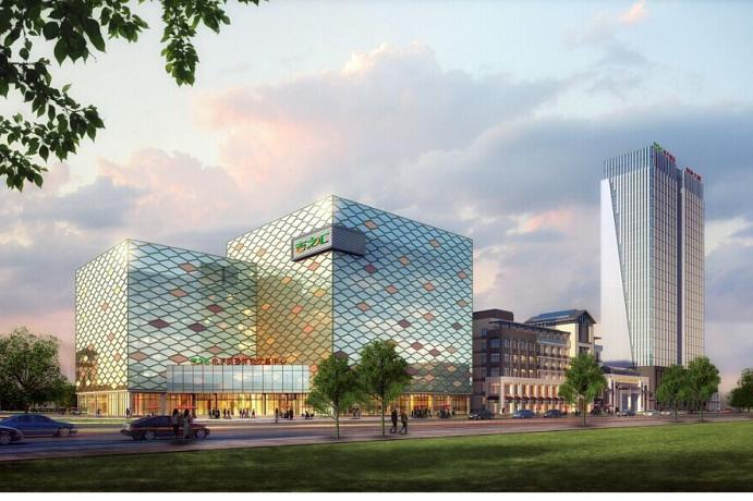 投资企业大楼图片素材