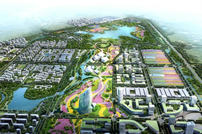7平方公里,以花卉为主题,致力为旅游,农业,度假,都市一体的产业集群