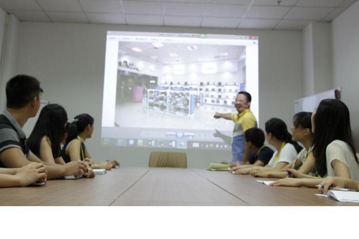 教学堂投影仪安装原理图解