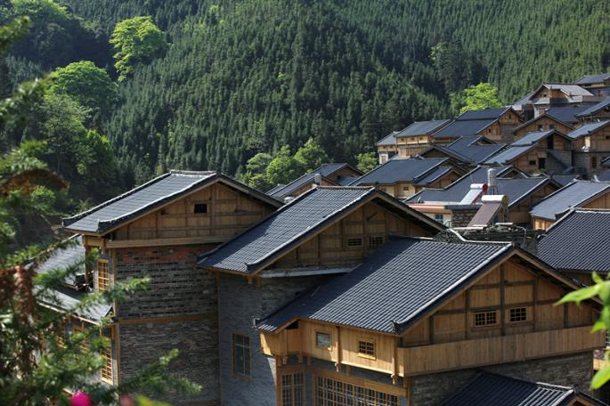 贵州黔西民居房子图
