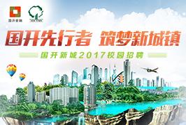 国开新城2017校园招聘