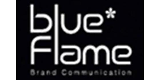 蓝色火焰广告