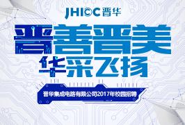 福建晋华集团2017校园招聘